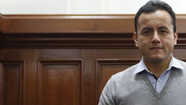 Richard Acuña denunció que donaciones del Congreso no llegan al COER