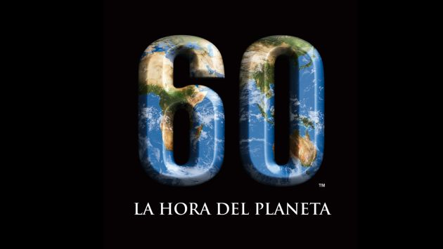 La 'Hora del Planeta' tendrá lugar en Lima a las 8:30 pm.