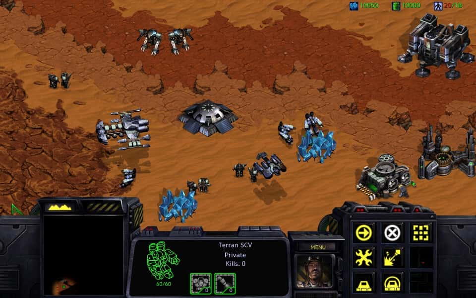 Blizzard genera nostalgia con la remasterización del clásico StarCraft (Captura)