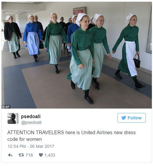 Bajaron a dos chicas de un avión porque usaban calzas