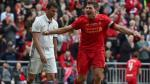Liverpool derrotó 4-3 al Real Madrid en un espectacular duelo de leyendas [VIDEO] - Noticias de steven gerrard