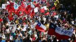 Chile: Miles de manifestantes exigen el fin del sistema privado de pensiones [Fotos] - Noticias de valparaiso