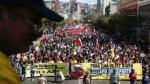 Chile: Miles de manifestantes exigen el fin del sistema privado de pensiones [Fotos] - Noticias de augusto pinochet