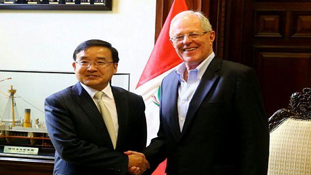 China donó US$ 1.5 millones al Perú para atender a los damnificados por las lluvias y huaicos. (@ppkamigo)