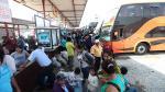 Estas son las empresas que han reanudado algunas rutas al norte del Perú - Noticias de accidente de bus