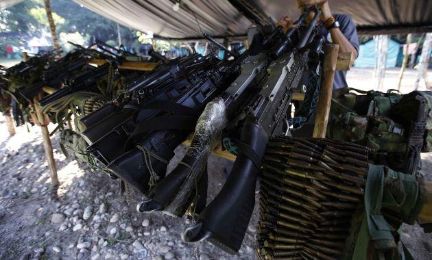 Las FARC han entregado el 85% de sus armas asegura la ONU (AP).