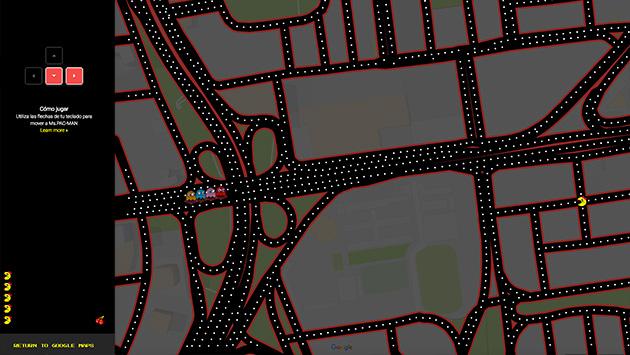 Convierte Las Calles De Lima En Un Juego De Pac Man Con Google Maps