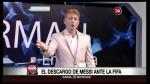 Martín Liberman criticó duramente a Lionel Messi y le dice mentiroso [VIDEO] - Noticias de martin liberman