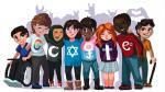 Google: Niña de quince años gana concurso de doodles con mensaje de inclusión e igualdad - Noticias de google