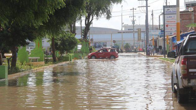 Piura sigue siendo azotada por torrenciales lluvias y desbordes de ríos. (Margarita Criollo/Perú21)