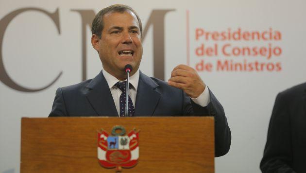 Ministro Bruno Giuffra se muestra optimista. (David Huamaní/Perú21)