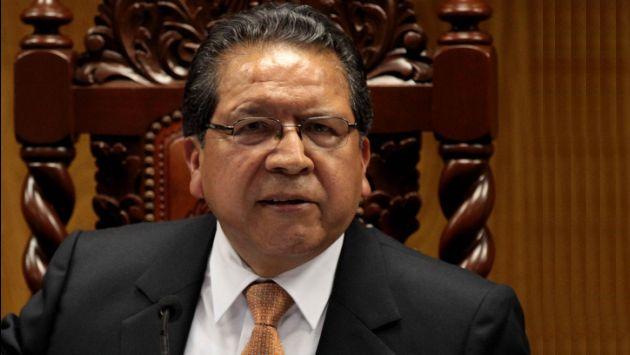 Piden investigar a Fiscal de la Nación, Pablo Sánchez. (EFE)