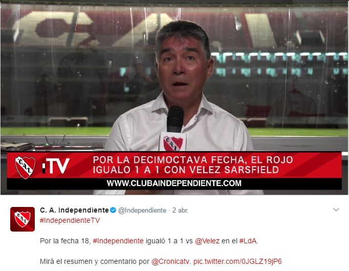 Alianza Lima vs. Independiente de Avellaneda