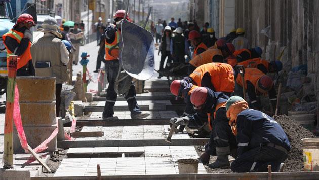 OBJETIVO CLAVE. Gobierno espera recuperar pronto la transitabilidad de las vías afectadas. (Perú21 / Heiner Aparicio)