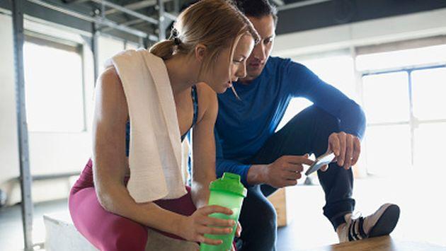 Múltiples aplicaciones móviles te mantendrán saludable todo el año. (Getty)