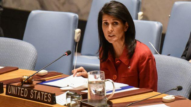 Representante estadounidense en la ONU ve necesario un cambio de régimen en Siria. (Reuters)