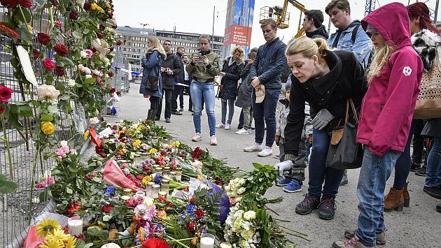 Autor del atentado de Estocolmo lamenta haber atropellado a 'pocas personas'. (EFE)