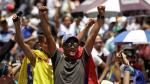 Reportan enfrentamientos entre la Policía y opositores en marcha contra Maduro  [Fotos] - Noticias de corina machado