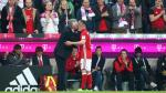 El beso de Carlo Ancelotti que calmó la furia de Franck Ribery [VIDEO] - Noticias de douglas costa