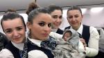 Esta es la bebé que nació durante un vuelo a más de 12 mil metros de altura [FOTOS] - Noticias de boeing