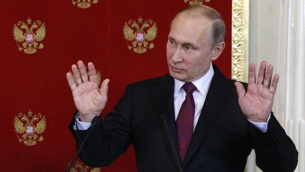 Vladimir Putin, presidente de Rusia (CBS News).