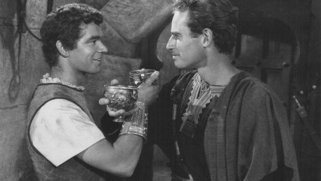 Los principales personajes de Ben-Hur habría los dos hombres habían sido amantes. (Getty)
