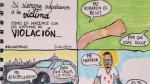 Ni una menos: Ilustrador peruano retrata lo ridículo que es justificar una violación sexual [Foto] - Noticias de ni una menos