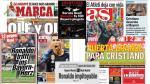 Cristiano Ronaldo: El rey de las portadas en todo el mundo por su doblete ante el Bayern - Noticias de flamengo vs atlético paranaense