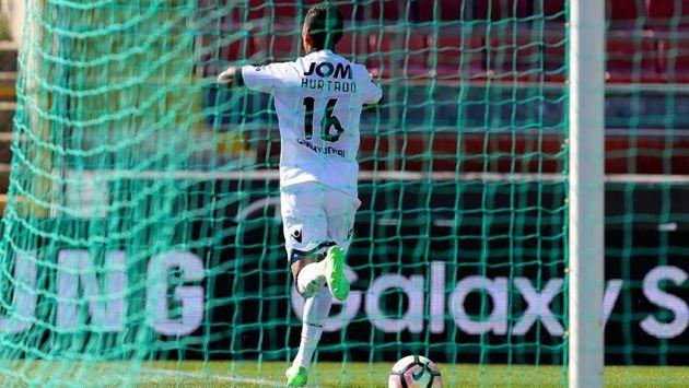 Hurtado marcó un gol y otorgó una asistencia en el triunfo de Vitória Guimarães sobre GD Chaves. (Facebbok Vitória Sport Clube)