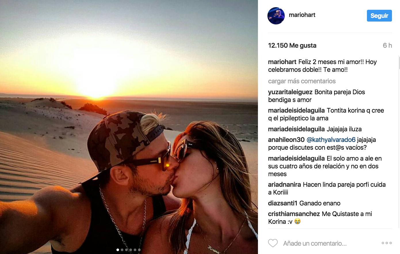 Alessandra Denegri se desnuda al estilo de Mario Hart y Korina Rivadeneira