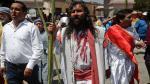 Semana Santa: Así se realizó el bautizo del 'Cristo Cholo' en el Rímac [Fotos] - Noticias de cristo salvador