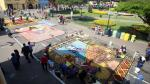 Semana Santa: Retratan a Evangelina Chamorro en concurso de alfombras florales [Fotos] - Noticias de jose chamorro