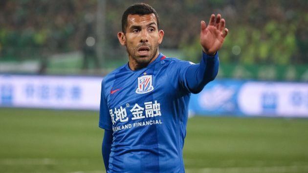Tévez ha marcado un gol desde su llegada al Shanghai Shenhua de la Superliga China. (EFE)