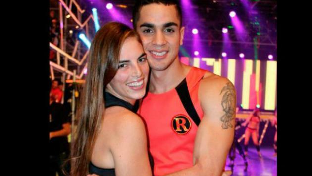 Manuela y Pablo se conocieron en las competencias del reality. (ATV)