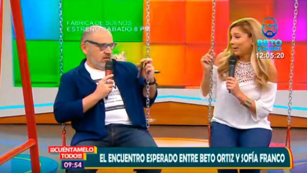 Beto y Sofia (Credito: ATV)