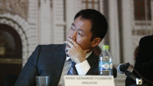 Kenji Fujimori marca otra línea divisoria con su bancada (Renzo Salazar)