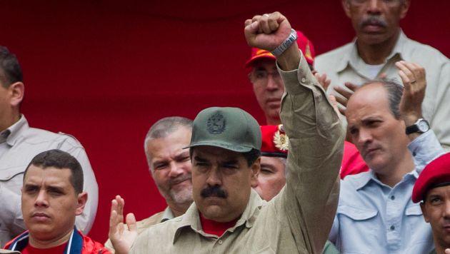 En las calles. Oposición marchará hoy contra Nicolás Maduro. (EFE)