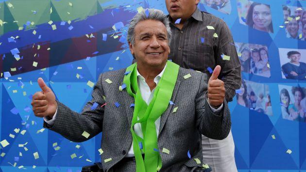 Lenín Moreno es el nuevo presidente electo de Ecuador. (Reuters)