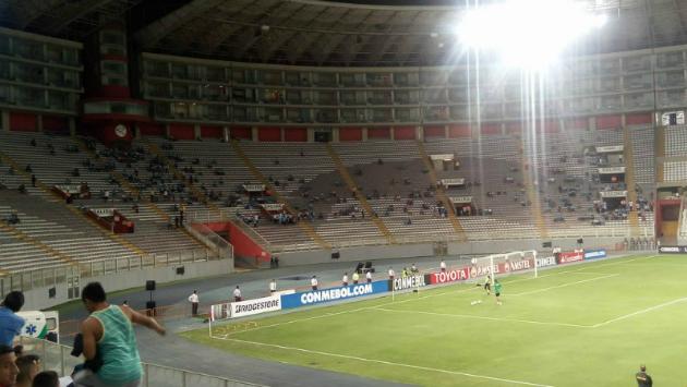 Sporting Cristal empató de local ante el equipo boliviano. (Foto: El Bocón)