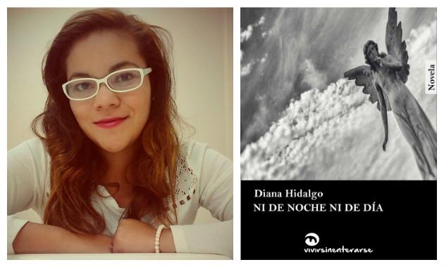 'Ni de noche ni de día', novela de Diana Hidalgo, será presentado este viernes en La Tostadora de Barranco. (Composición)