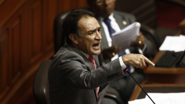Héctor Becerril afirma que Ollanta Humala no colaboró con legisladores (Renzo Salazar)