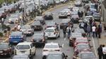 Cerro Centinela: Gran caos vehicular produjo cambio de carril - Noticias de gomez baca
