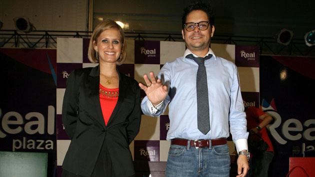 Gian Piero Díaz y Rossana Fernández Maldonado. (USI)
