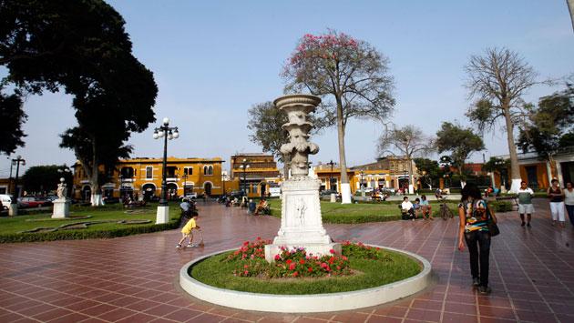 El distrito limeño de Barranco. (Perú21)