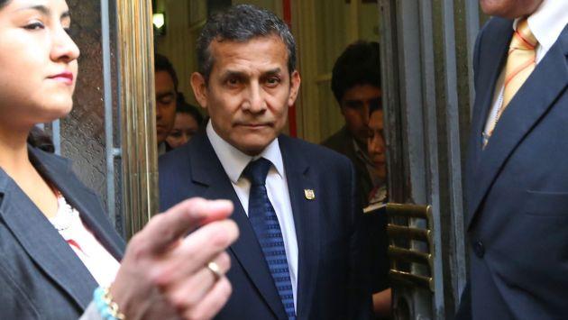 El ex presidente Humala es investigado por el caso Odebrecht (Renzo Salazar).