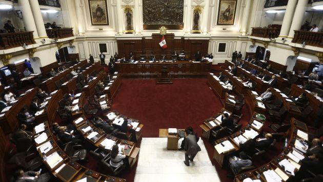 Congreso muestra reconocimiento a comandos (Renzo Salazar)