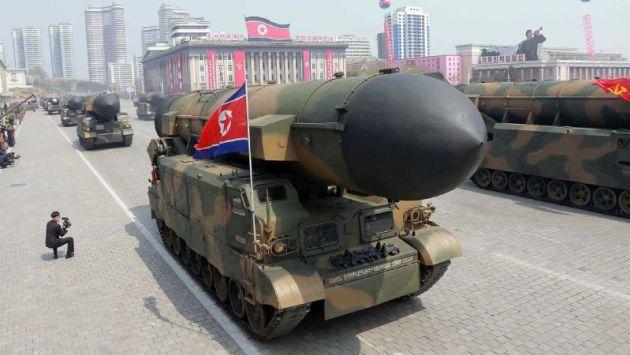 Corea del Norte: El real alcance de sus misiles más aterradores. (AFP)