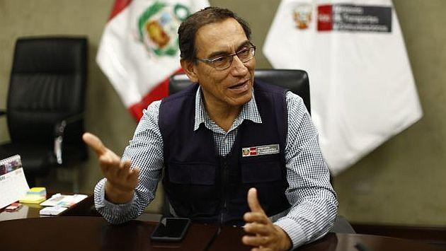 Martín Vizcarra confirmó que el inicio de las obras de ampliación en el Aeropuerto Internacional Jorge Chávez se iniciarán este año. (USI)