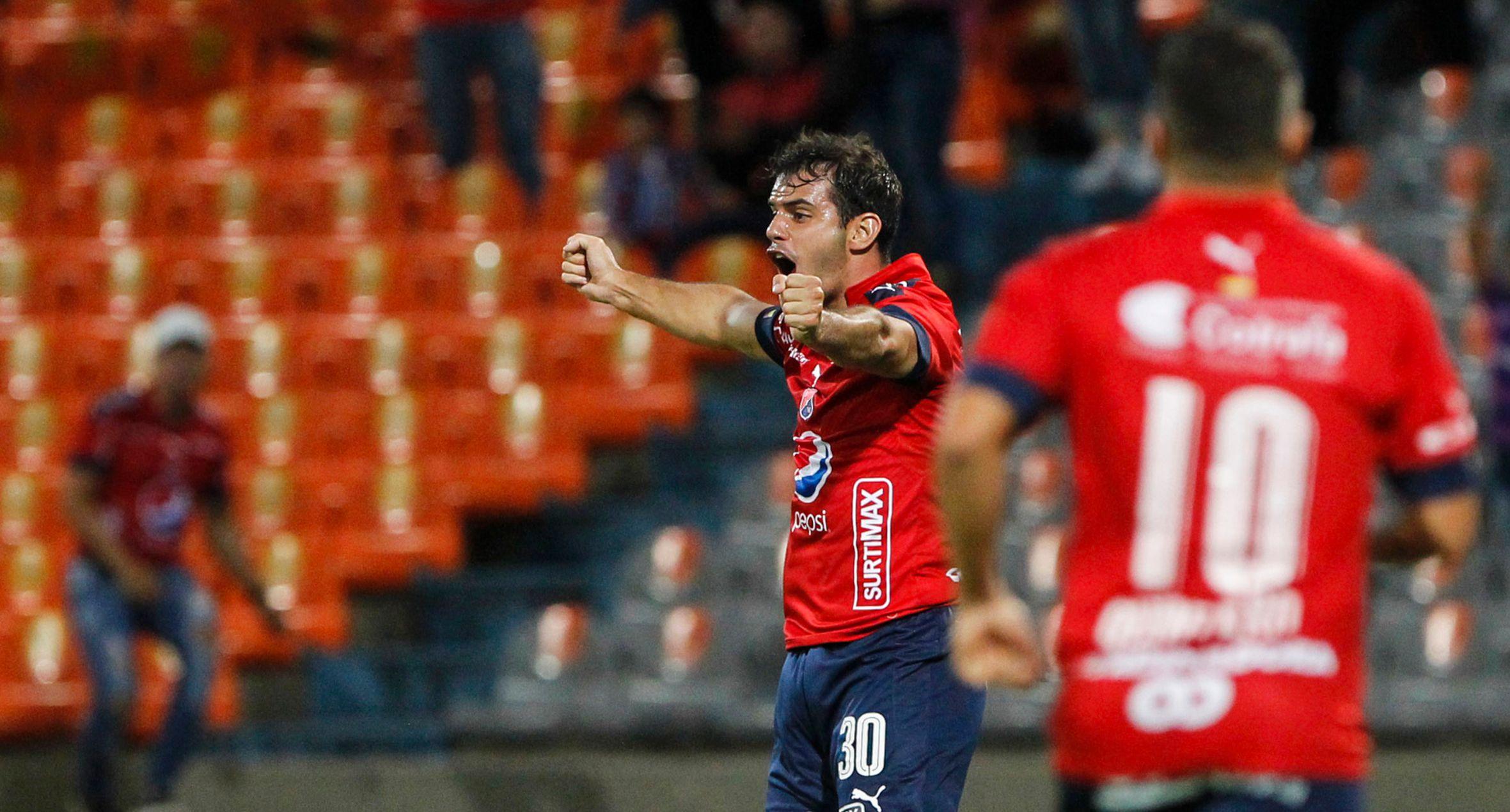 DIM sumó su primera victoria en el Grupo 3 de la Copa Libertadores frente a Melgar de Arequipa. (AFP)