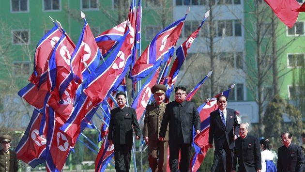 Alta tensión. Gobierno de Kim Jong-un espera destruir a Estados Unidos. (EFE)